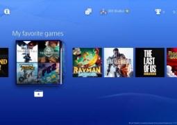 Vazam imagens da nova interface do PlayStation 4