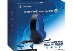 Sony anuncia novo headset gamer Silver Wired Stereo, com som surround 7.1, por US$70