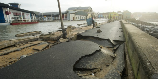 Storm Damage In Pictures: Lahinch