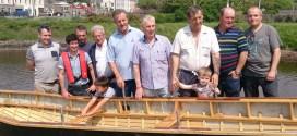 Kilrush men's shed builds currach