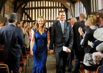 Clarendon Park locals Helen and Geoff on their wedding day
