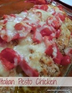Italian Pesto Chicken