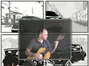 city driving classical guitar