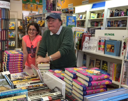 Sophie Risin with james patterson 3