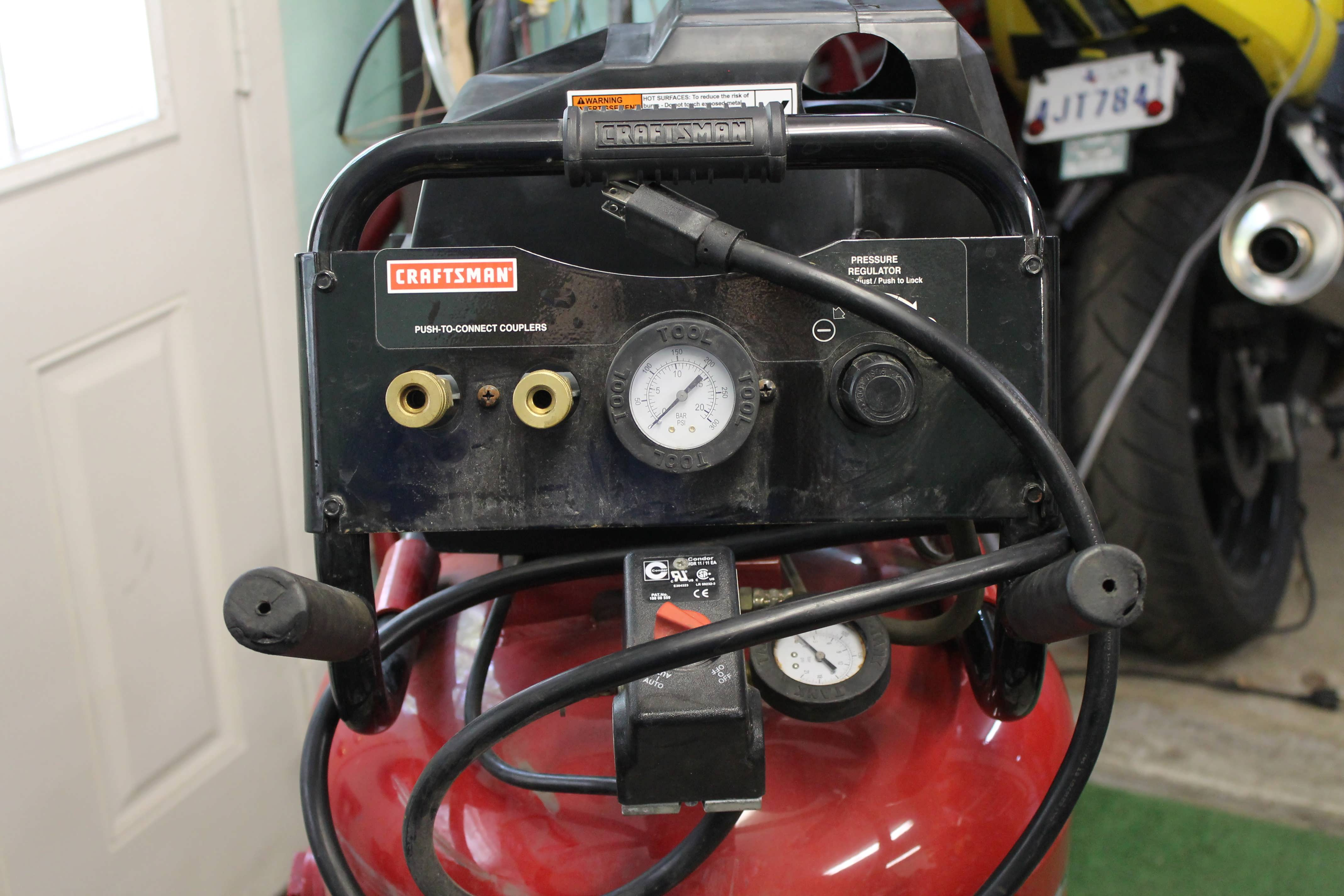 Craftsman oilless air compressor not pumping | Classic Cars and Tools