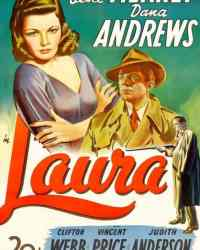 Laura (1944) with Gene Tierney and Dana Andrews