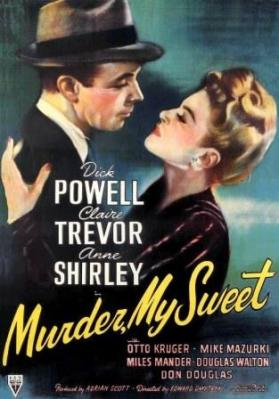 Murder, My Sweet (1944) with Dick Powell and Claire Trevor