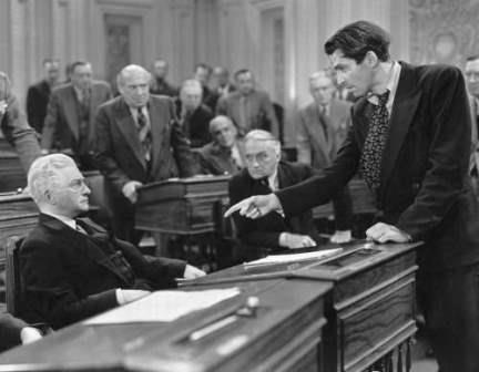 1939 Mr Smith Goes to Washington claude rains jimmy stewart