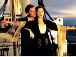 Leonardo DiCaprio and Kate Winslet in 1997's Titanic
