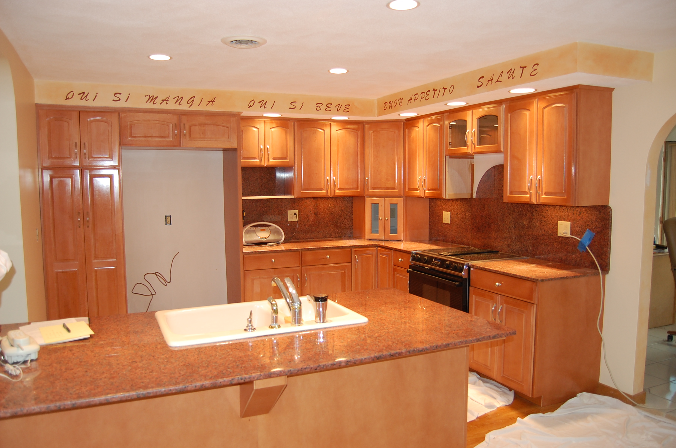 Refacing Process resurfacing kitchen cabinets Cabinet Refacing Photo