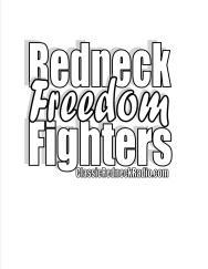 redneck tshirt white