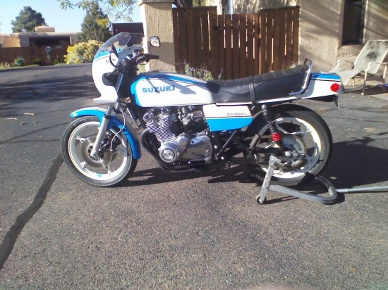 1980 Suzuki GS1000S L Side