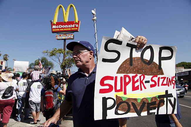 Super-size poverty
