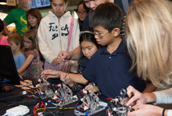 A national festival pairs curious students with STEM professionals to celebrate and explore the world of science.