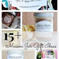 15+ Mason Jar Gift Ideas