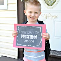 Last Day of School Printables
