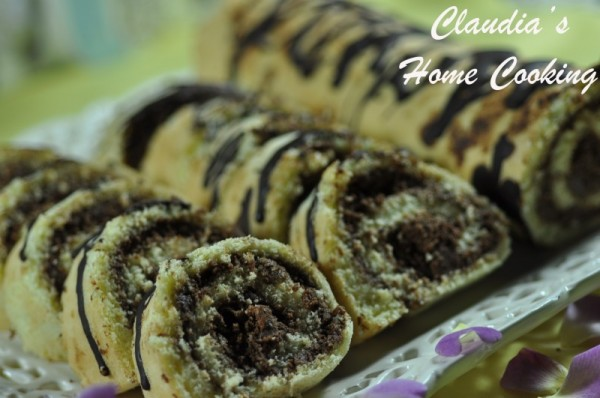 Chocolate Sponge Roll