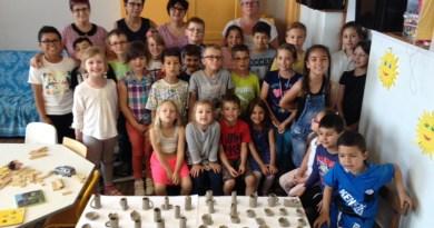 Atelier poterie pour l'accueil périscolaire