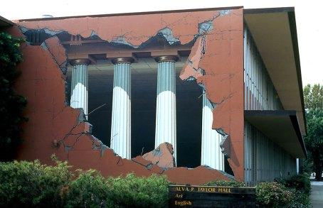 3D Building Art - Building Ripped Open