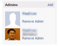 Remove Facebook Page Admin