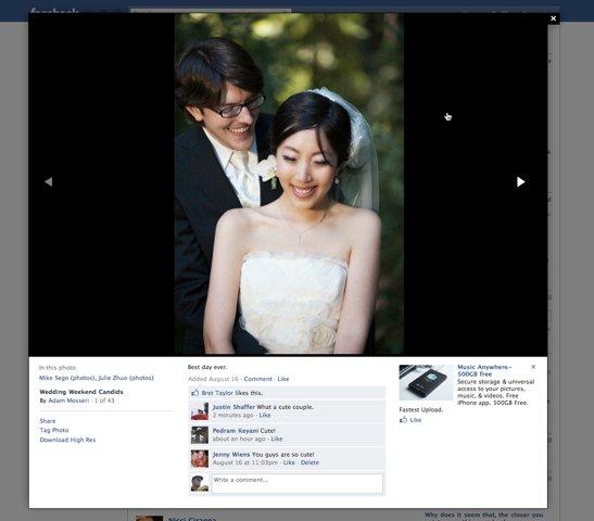 Facebook Photos Viewer