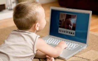 Children Laptop Online Internet