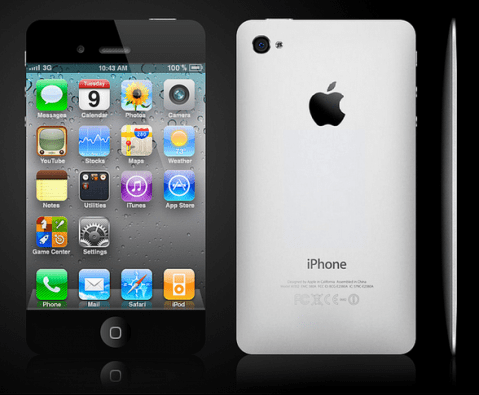 iPhone 5 Design Mockup - Full Screen