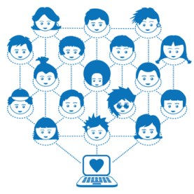 Kids Social Network Facebook Connections