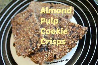 Almond Pulp Cookie Crisps (Gluten- and dairy-free) - Clean Eating Kitchen