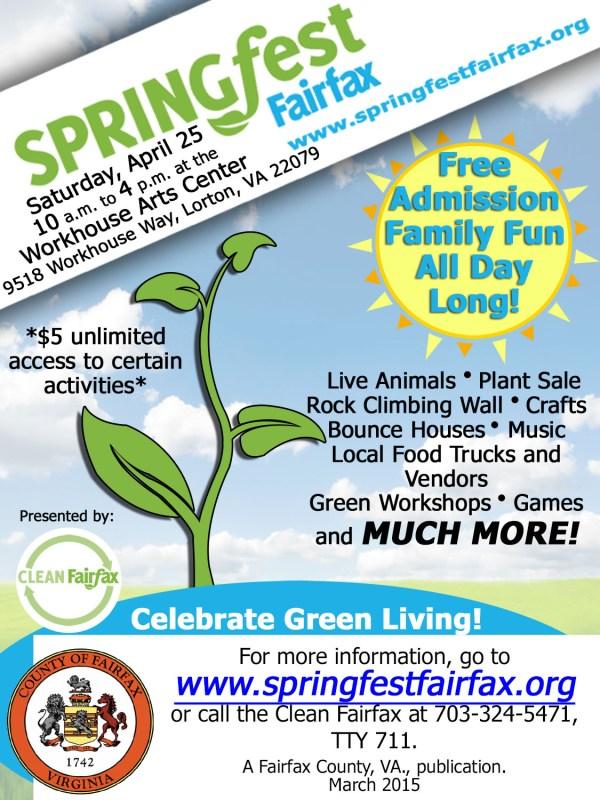 Springfest Newsletter Ad
