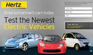 Hertz EV Rental
