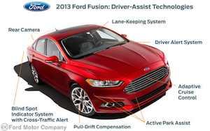 Driver Assist 2013 Fusion