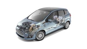 2013 Ford C-Max Energi Cutaway