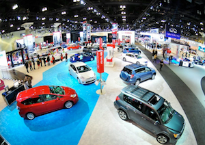 Auto Show Debut Toyota Prii