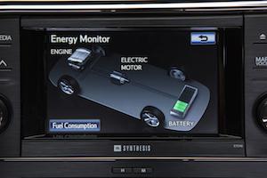 Toyota Avalon Hybrid Energy Monitor