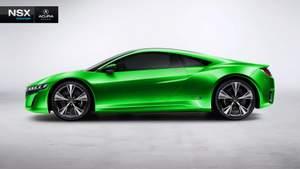 Acura, Honda, NSX, hybrid, supercar