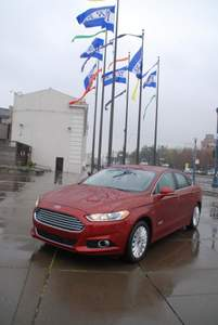Ford,Fusion,hybrid,car, plug-in, electric car