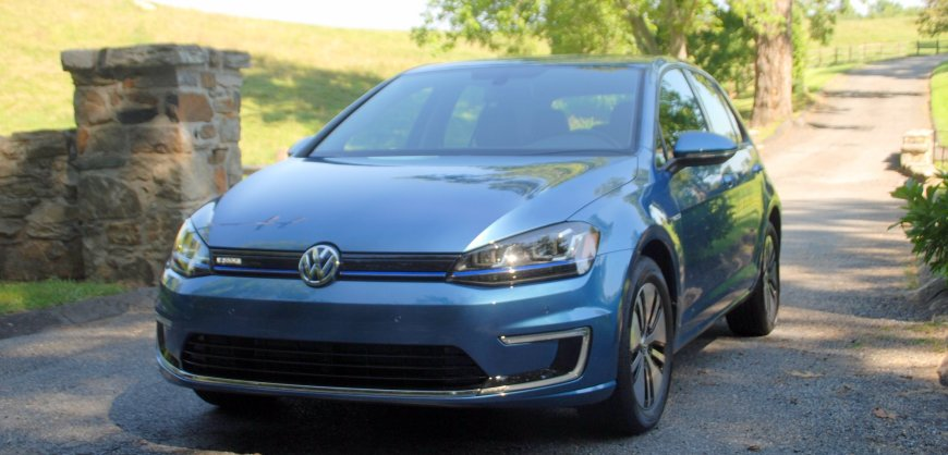2014 Volkswagen, VW e-Golf, electric car