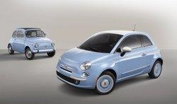 2015, Fiat, 500 Lounge,1957 Edition, Fiat 500 original,cinquecento