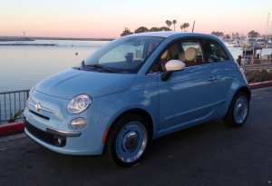 2015 Fiat, 500 Lounge, 1957 Edition