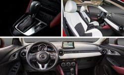 2016 Mazda,CX-3, interior