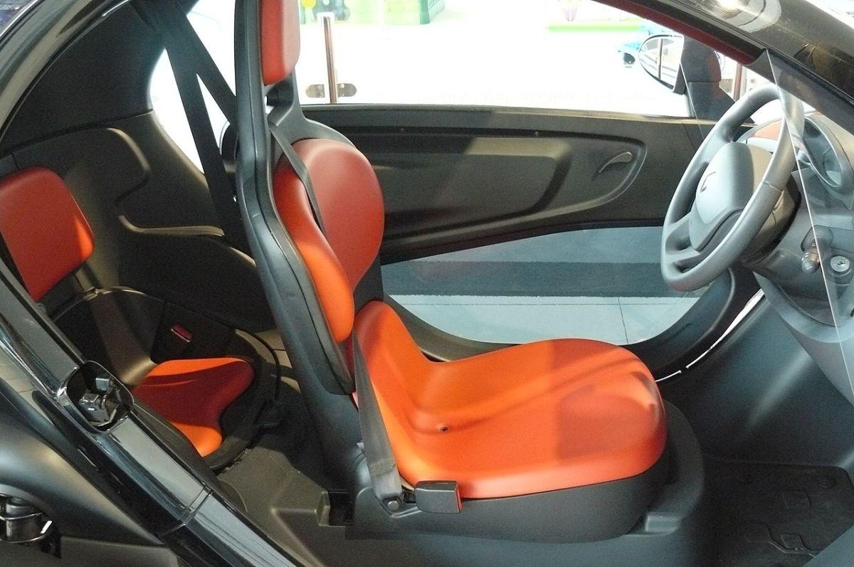 Renault Twizy,interor,electric car