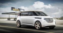 Volkswagen BUDD-e electric concept car,EV, technology