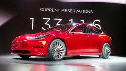 Tesla,Model 3,reveal,EV, electric car