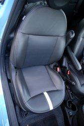 2016 Fiat 500e, seats,interior