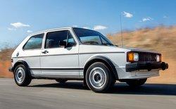 2016 Volkswagen Golf TSI, Golf history, first generation