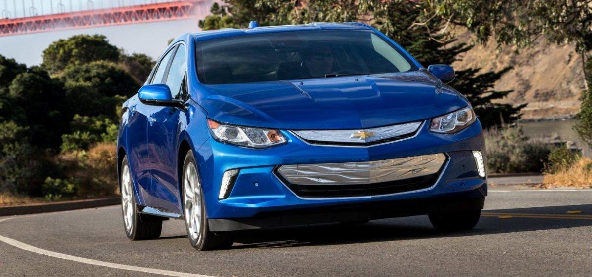 2017 Chevrolet Volt plug-in hybrid