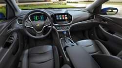 2017 Chevrolet Volt, interior