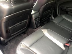 2016 Dodge Charger, interior, rear seat