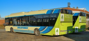 Biogas is used to power public buses in several European countries